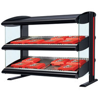 Hatco HXMS-24D LED 24 inch Slanted Double Shelf Merchandiser - 120V