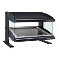 Hatco HZMS-48 Black 48 inch Slanted Single Shelf Heated Zone Merchandiser - 120V