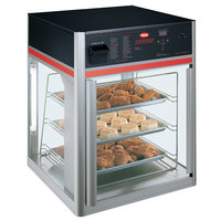 Hatco FSD-2X Flav-R-Savor Two Door Holding and Display Cabinet with Three Tier Pan Rack