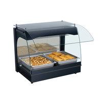 Hatco GRCMW-1 Glo-Ray 22 inch Single Shelf Curved Merchandising Warmer - 670W