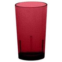 Cambro D12156 Ruby Red Del Mar Customizable Plastic Tumbler 12 oz. - 36/Case
