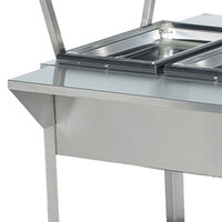 Vollrath 38092 32 inch Plate Rest for Vollrath ServeWell 2 Well / Pan Hot or Cold Food Tables