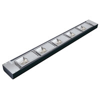 Hatco NLX-24 24 inch Black Narrow Xenon Display Light - 150W