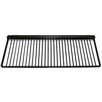 True 909204 Black Coated Wire Half Shelf - 19 11/16 inch x 9 1/4 inch