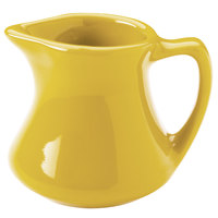 Hall China 30193320 Sunflower 2.5 oz. Colorations Empire Creamer - 72/Case