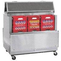 Master-Bilt DOMC-084SS-A Stainless Steel Dual Access Milk Cooler - 35 inch