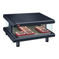 Hatco GR2SDS-30 Black Glo-Ray Designer 30 inch Slanted Single Shelf Merchandiser - 120V