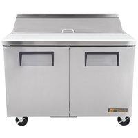 True TSSU-48-12-ADA 48 inch 2 Door Sandwich / Salad Prep Refrigerator