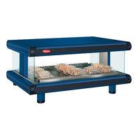 Hatco GR2SDH-60 Navy Blue Glo-Ray Designer 60 inch Horizontal Single Shelf Merchandiser - 120V