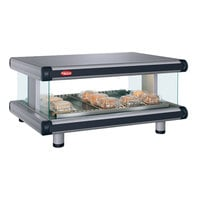 Hatco GR2SDH-24 Gray Granite Glo-Ray Designer 24 inch Horizontal Single Shelf Merchandiser - 120V