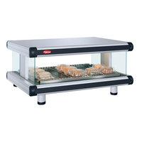 Hatco GR2SDH-54 White Granite Glo-Ray Designer 54 inch Horizontal Single Shelf Merchandiser - 120V
