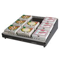 Hatco GRPWS-2424 Granite Gray Glo-Ray 24 inch Single Shelf Pizza Warmer - 480W