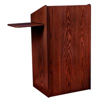 Oklahoma Sound 600MY Mahogany Finish Aristocrat Floor Lectern
