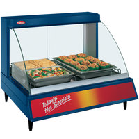 Hatco GRCD-2P Navy 32 inch Glo-Ray Full Service Single Shelf Merchandiser - 120V, 780W
