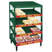 Hatco GRPWS-4824Q Hunter Green Glo-Ray 48 inch Quadruple Shelf Pizza Warmer - 4780W