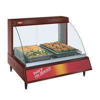 Hatco GRCD-2P Copper 32 inch Glo-Ray Full Service Single Shelf Merchandiser - 120V, 780W