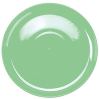 Tuxton BTA-1315 DuraTux 13 1/8 inch Cilantro China Pizza Serving Plate - 6/Case
