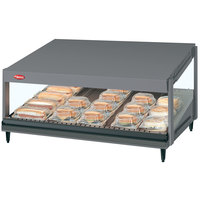 Hatco GRSDS-30 Gray Granite Glo-Ray 30 inch Slanted Single Shelf Merchandiser - 120V