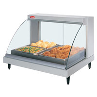 Hatco GRCDH-2P White 33 inch Glo-Ray Full Service Single Shelf Merchandiser with Humidity Controls - 1030W