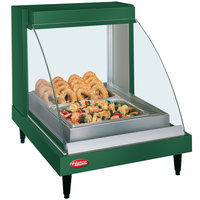 Hatco GRCDH-1P Green 20 inch Glo-Ray Full Service Single Shelf Merchandiser with Humidity Controls - 660W