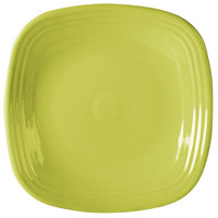 Homer Laughlin 919332 Fiesta Lemongrass 10 3/4 inch Square Dinner Plate - 12 / Case