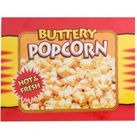 APW Wyott 21770300 Replacement Buttery Popcorn Transparency for LW-4PKG Heated Countertop Warmer with Display Light