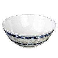 Blue Dragon 56 oz. Round Melamine Rice Bowl - 12/Case