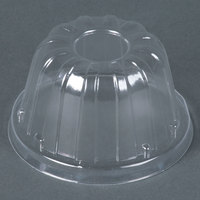 Dart Solo 12HDLC Clear High Dome Lid - 50/Pack