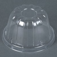 Dart Solo 12HDLC Clear High Dome Lid - 50 / Pack