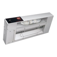 Hatco GRAHL-24 Glo-Ray 24 inch Aluminum Single High Wattage Infrared Lighted Warmer with Infinite Controls - 620W