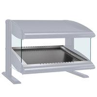 Hatco HZMS-36 White Granite 36 inch Slanted Single Shelf Heated Zone Merchandiser - 120V