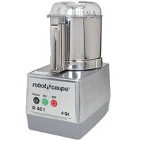 Robot Coupe R401B Food Processor with 4.5 qt. Stainless Steel Bowl - 120V