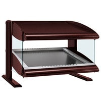 Hatco HZMS-36 Antique Copper 36 inch Slanted Single Shelf Heated Zone Merchandiser - 120V
