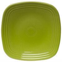 Homer Laughlin 920332 Fiesta Lemongrass 9 1/4 inch Square Luncheon Plate - 12/Case