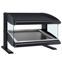 Hatco HZMS-24 Gray Granite 24 inch Slanted Single Shelf Heated Zone Merchandiser - 120V