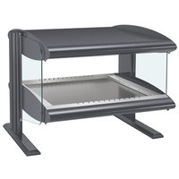 Hatco HZMH-30 Gray Granite 30 inch Horizontal Single Shelf Heated Zone Merchandiser - 120V
