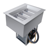Hatco CWB-1 One Pan Refrigerated Drop In Cold Food Well with Drain - 120V