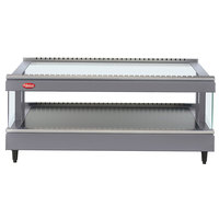 Hatco GR3SDS-33 Gray Granite Glo-Ray 33 inch Slanted Single Shelf Heated Glass Merchandising Warmer - 120V