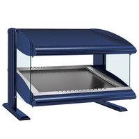 Hatco HZMS-48 Navy Blue 48 inch Slanted Single Shelf Heated Zone Merchandiser - 120V