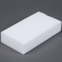 Royal Paper S724 Individually Wrapped 4 5/8 inch x 2 1/2 inch Wipe Out Eraser Sponge - 24/Case