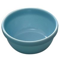 Blue Jade 7 oz. Round Melamine Bowl - 12/Case