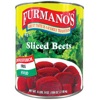 Furmano's Sliced Beets - #10 Can - 6/Case