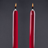 Will & Baumer 15 inch Red Chace Candle 2 / Pack