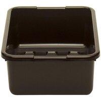 Cambro 21157CBP131 Cambox 21 inch x 15 inch x 7 inch Dark Brown Polyethylene Plastic Bus Box