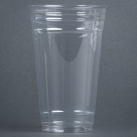 Dart Solo UltraClear TD24 24 oz. Clear PET Plastic Cold Cup - 600 / Case