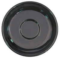 CAC TG-2-BLK Tango 6 inch Black Round Saucer - 36/Case