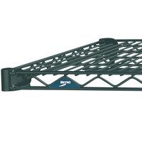 Metro 1448N-DSG Super Erecta Smoked Glass Wire Shelf - 14 inch x 48 inch