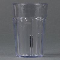 Cambro NT5152 Newport 6.4 oz. Clear Customizable Plastic Tumbler - 36/Case