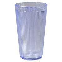 Carlisle 403414 Ocean Blue Crystalon RimGlow Tumbler 16 oz. - 48 / Case