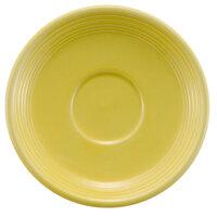 CAC TG-2-SFL Tango 6 inch Sunflower Round Saucer - 36/Case